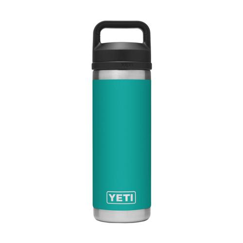YETI Rambler 18oz Bottle with Chug Cap Aquifer_blue