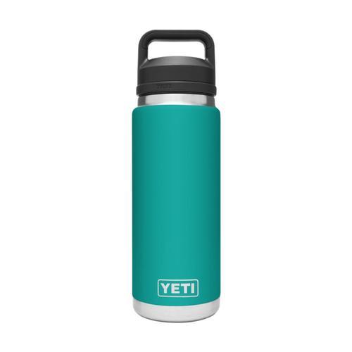 YETI Rambler 26oz Bottle with Chug Cap Aquifer_blue