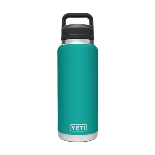 YETI Rambler 36oz Bottle with Chug Cap Aquifer_blue