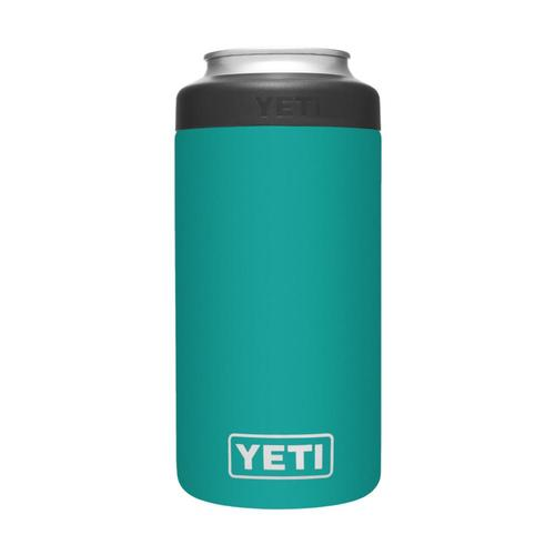 YETI Rambler 16oz Colster Tall Can Insulator Aquifer_blue