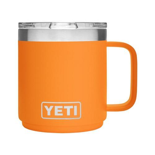 YETI Rambler 10oz Stackable Mug with MagSlider Lid King_crab_orng