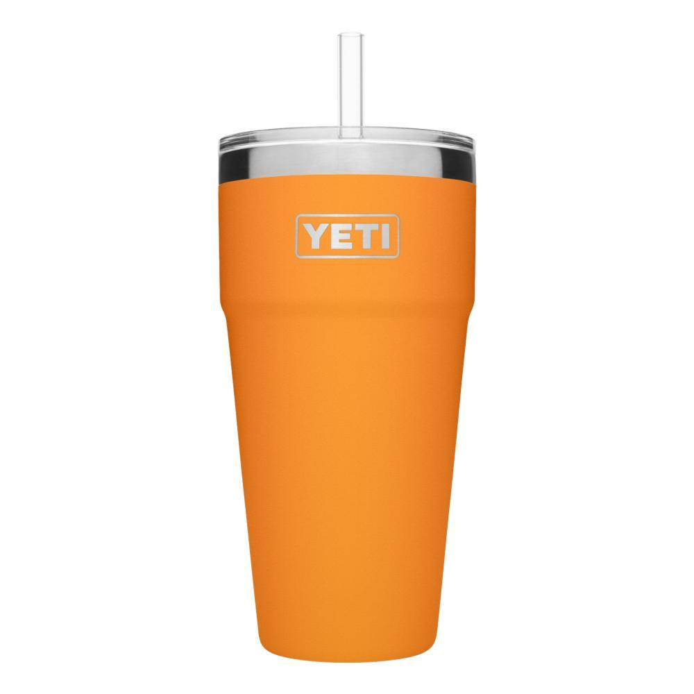 YETI Rambler 26oz Stackable Cup with Straw Lid KING_CRAB_ORNG
