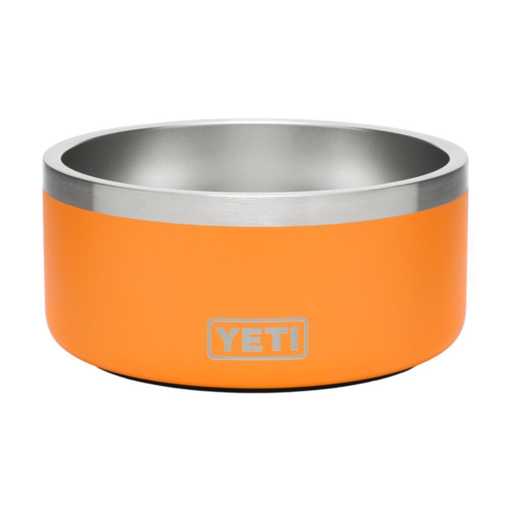 YETI Boomer 4 Dog Bowl KING_CRAB_ORNG