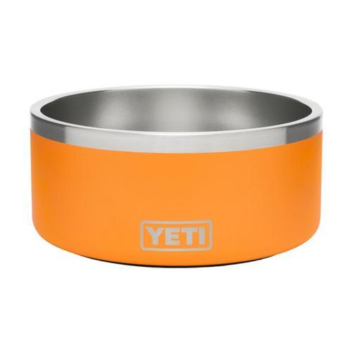 YETI Boomer 8 Dog Bowl King_crab_orng