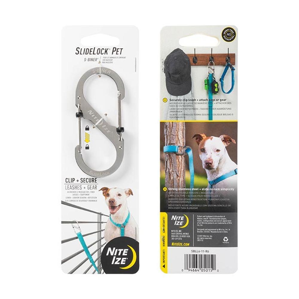 NiteIze SlideLock Pet S-Biner STAINLESS