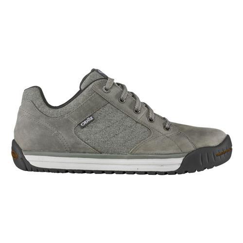 Oboz Men's Mendenhall Low Canvas Sneakers Gunmetl