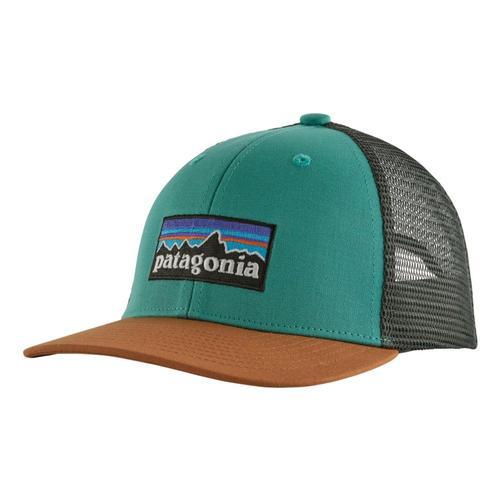 Patagonia Kids Trucker Hat Brlgrn_plbg
