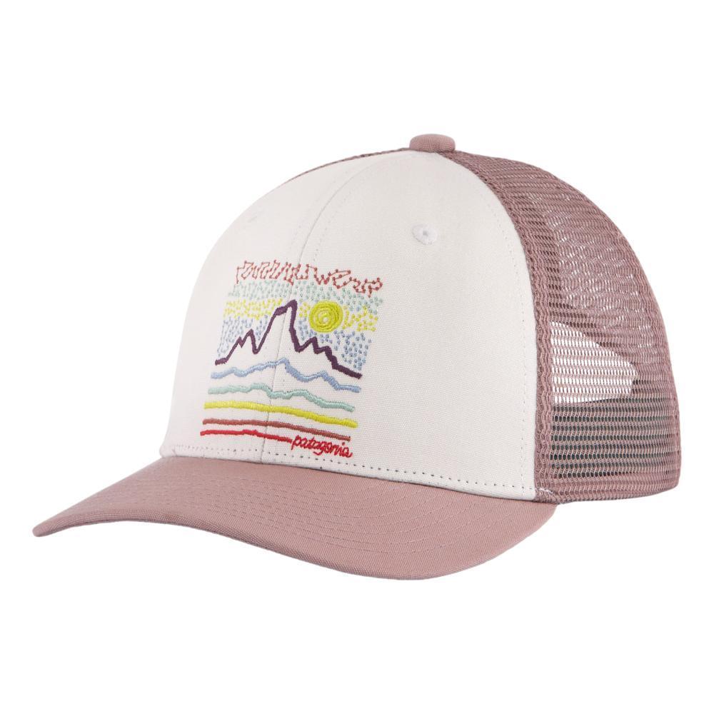 Patagonia Kids Trucker Hat STRWHT_FSWT