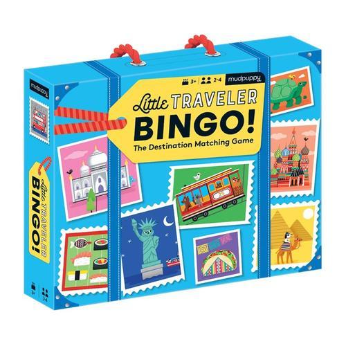 Mudpuppy Little Traveler Bingo Game