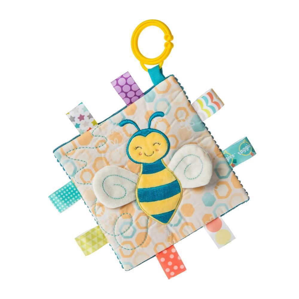 Mary Meyer Taggies Crinkle Me Fuzzy Buzzy Bee