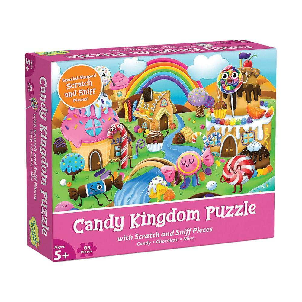 Mindware Scratch And Sniff Jigsaw Puzzle : Candy Kingdom