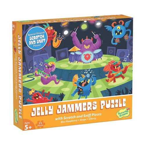 MindWare Scratch and Sniff Jigsaw Puzzle: Jelly Jammers