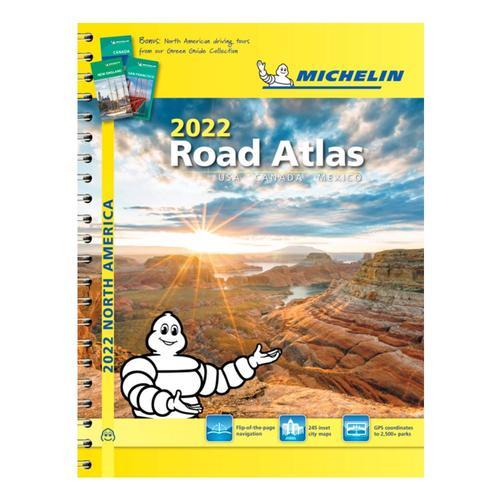 Michelin North America Road Atlas 2022 - USA, Canada, Mexico