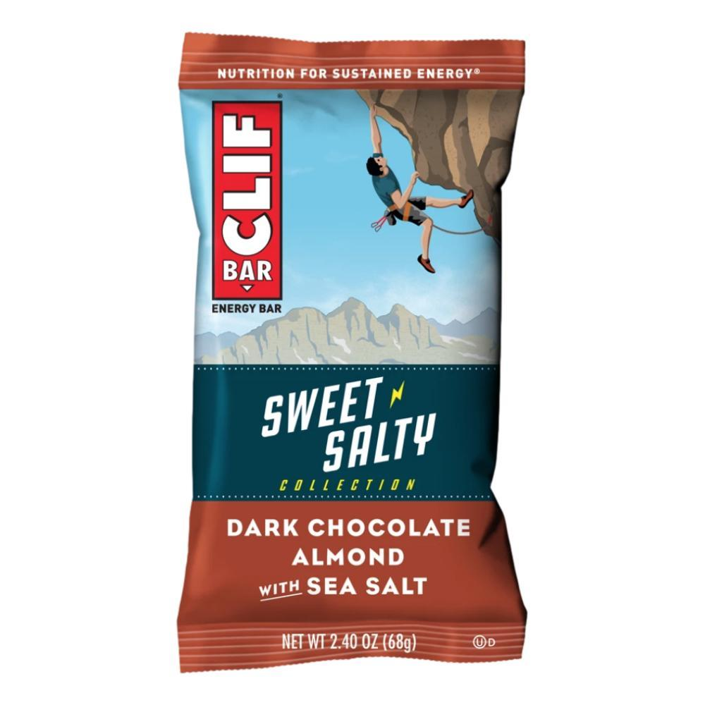 CLIF Bar Sweet & Salty: Dark Chocolate Almond with Sea Salt Energy Bar DRKCHOC.ALM.SSLT