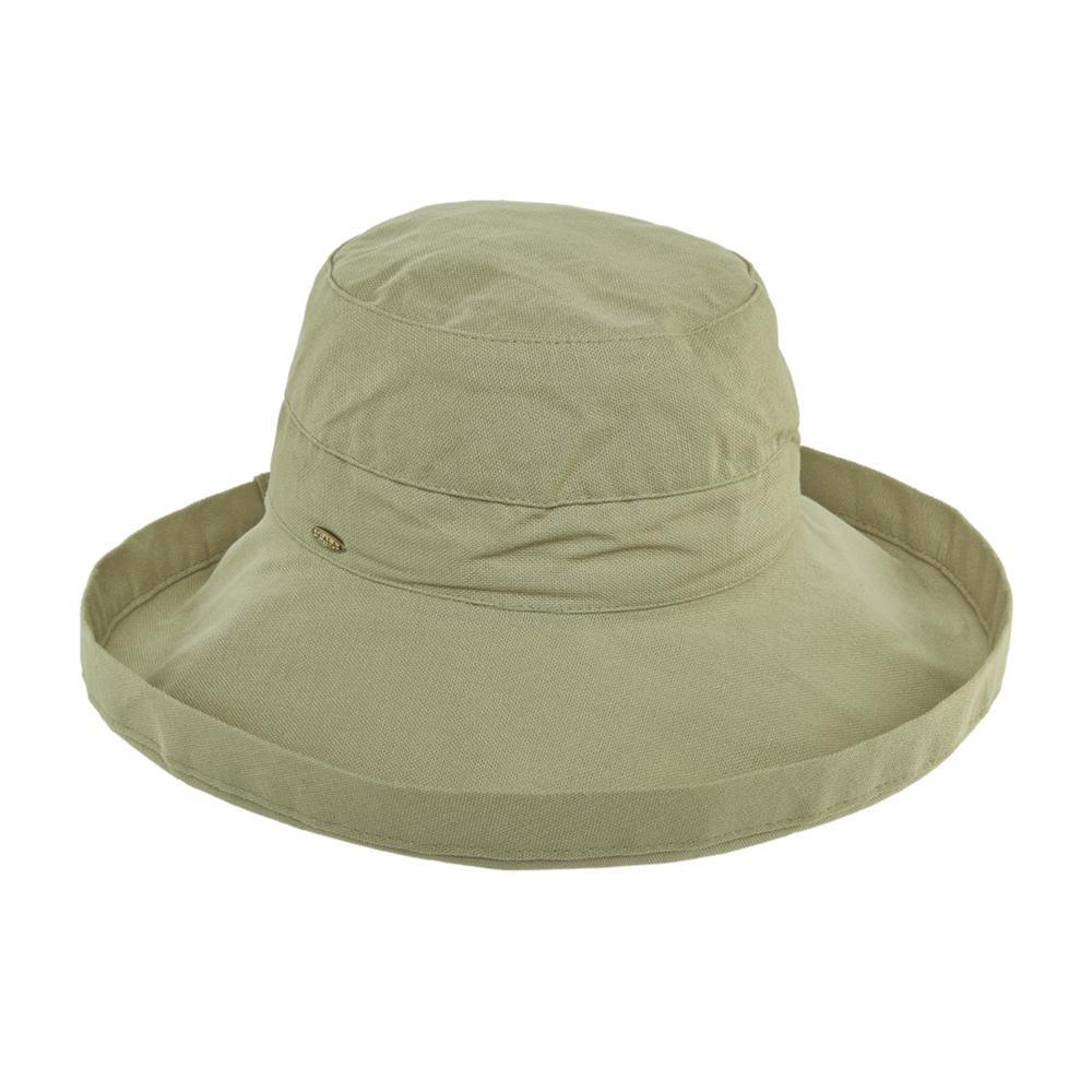 Dorfman Pacific Women's Big Brim Bucket Hat CHINO