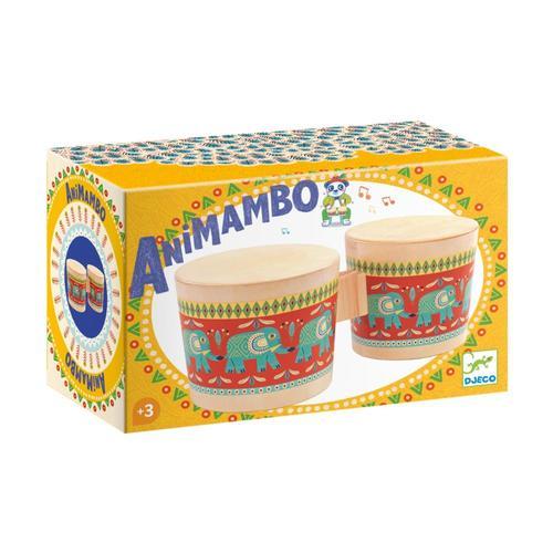 Djeco Animambo Wooden Bongos
