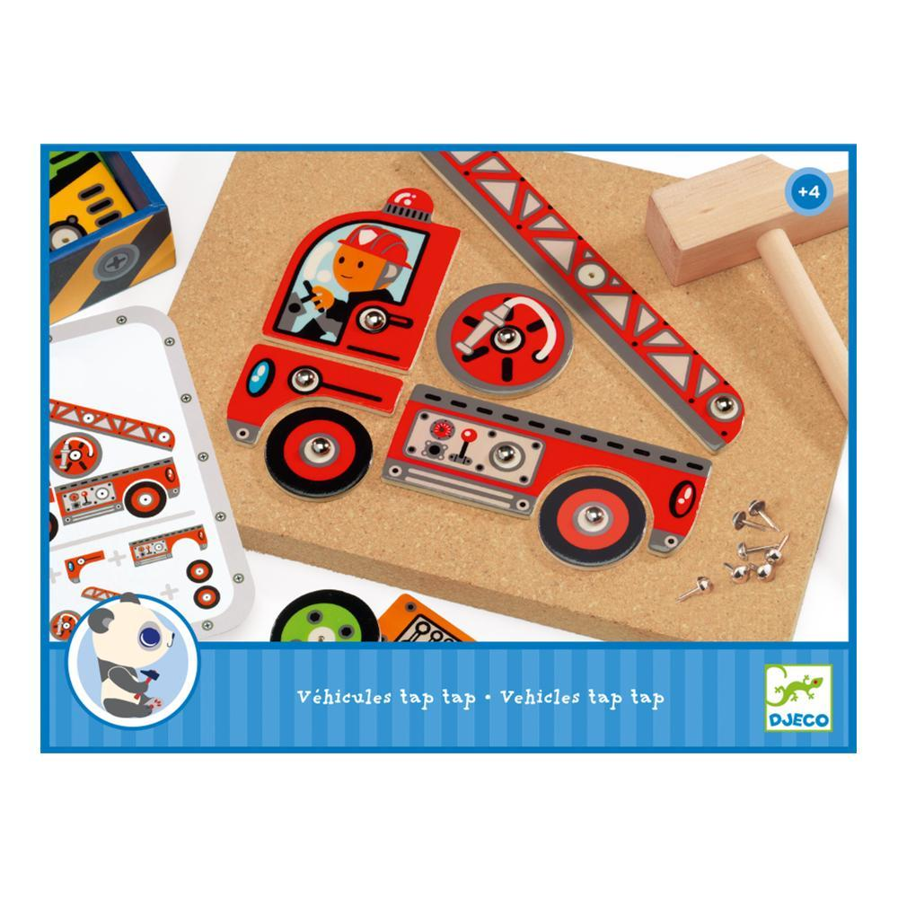 Djeco Tap Tap Vehicles Game