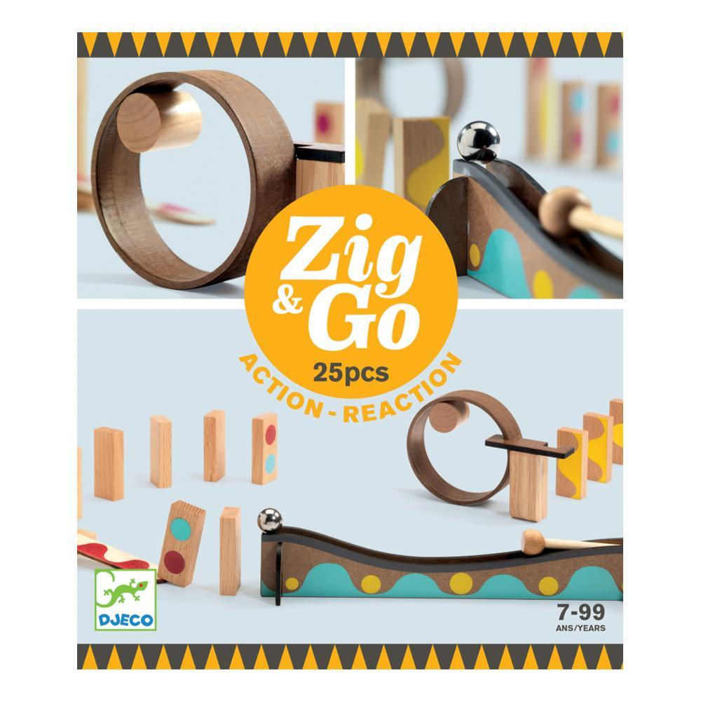 Djeco Zig & Go Dring Set - 25pc