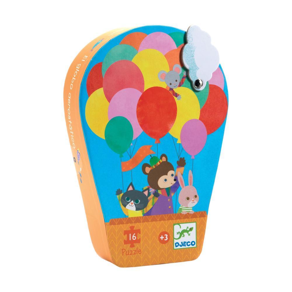 Djeco Hot Air Balloon Mini Jigsaw Puzzle - 16pc
