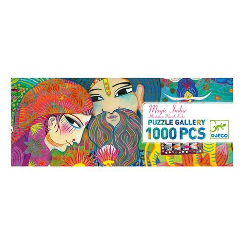 Djeco Magic India Gallery Jigsaw Puzzle - 1000pc