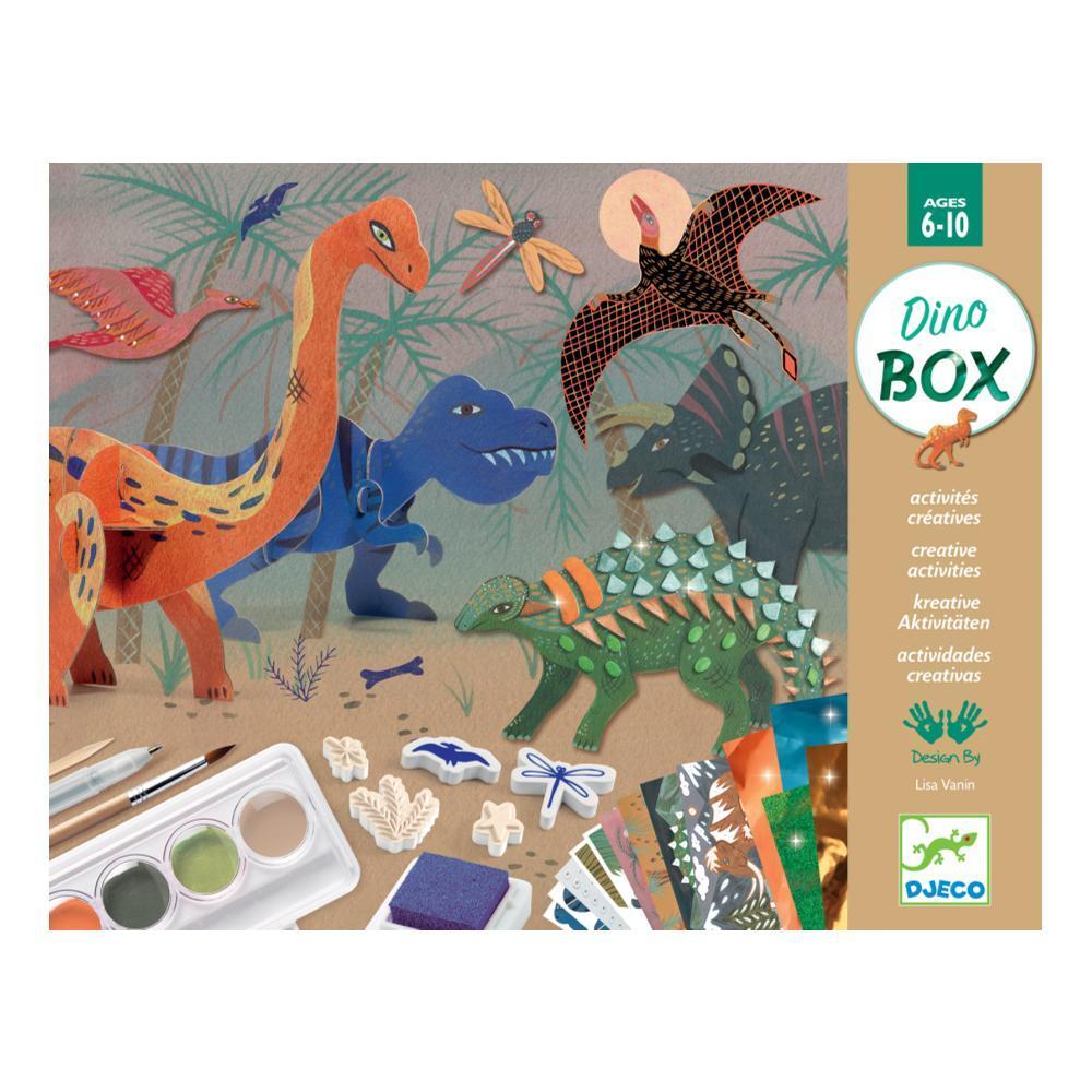 Djeco The World Of Dinosaurs Multi Activity Kit