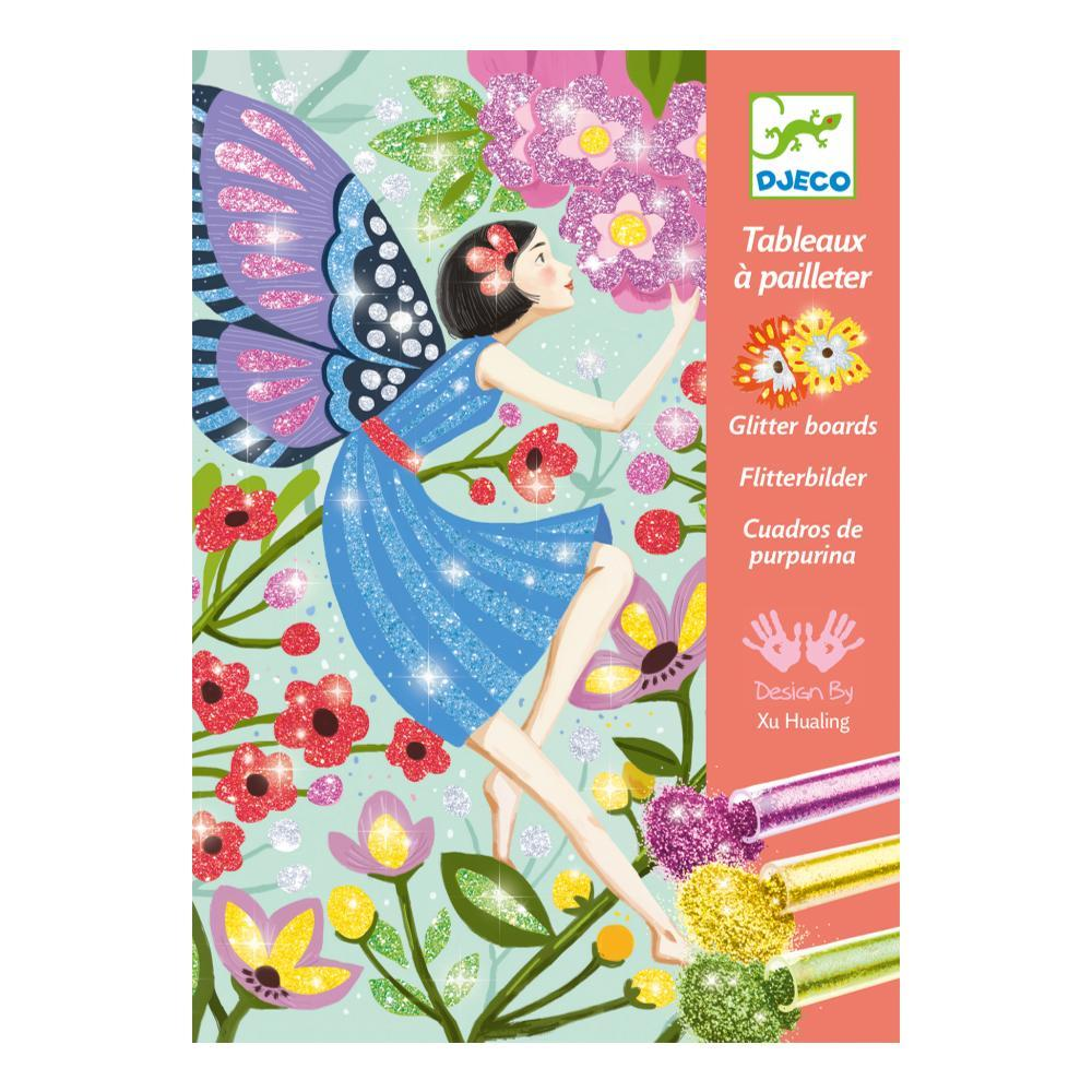 Djeco The Gentle Life Of Fairies Glitter Boards