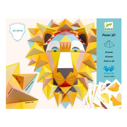 Djeco The King 3D Paper Creation Kit