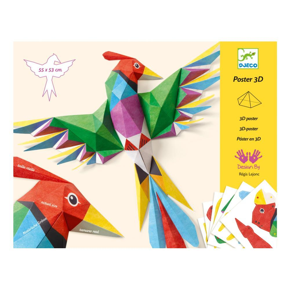 Djeco Amazonie 3d Paper Creation Kit