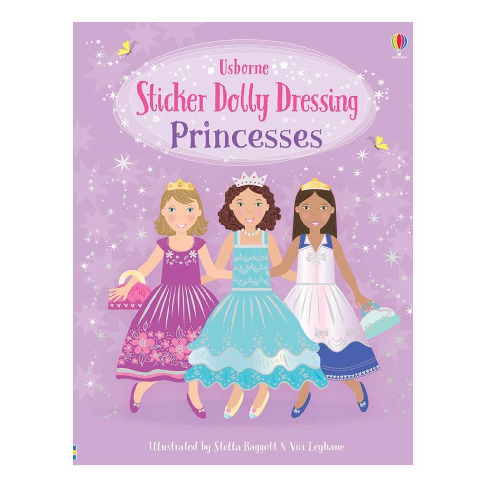 Sticker Dolly Dressing Princesses By Fiona Watt
