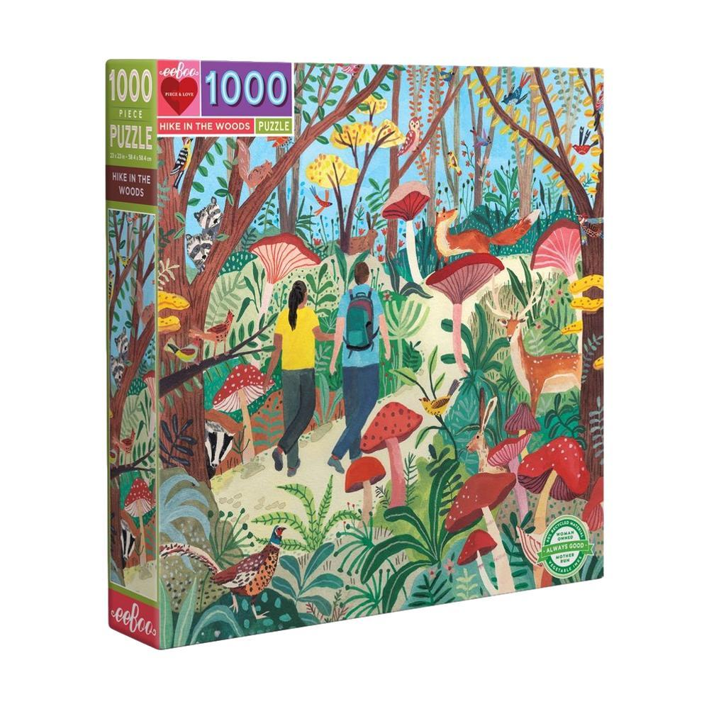 Eeboo Hike In The Woods 1000 Piece Jigsaw Puzzle