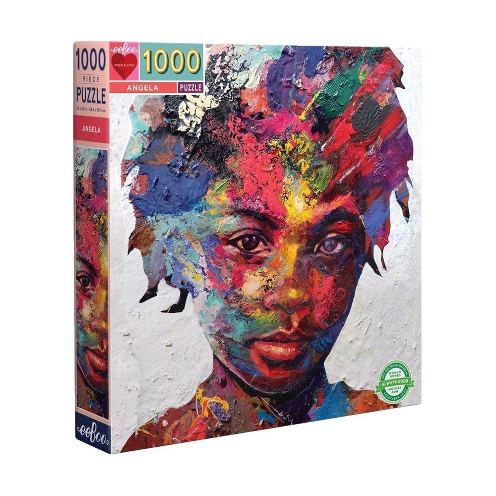 Eeboo Angela 1000 Piece Jigsaw Puzzle