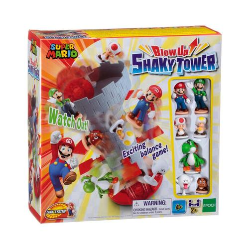 Epoch Super Mario Blow Up! Shaky Tower Game