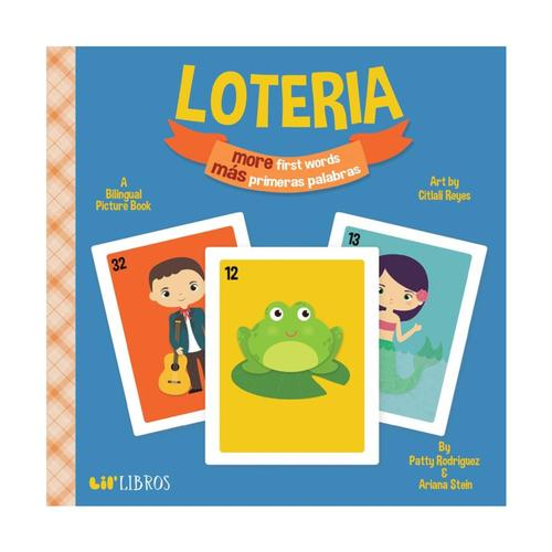 Loteria More First Words / M?s Primeras Palabras by Patty Rodriguez & Ariana Stein