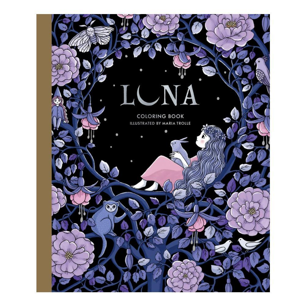 Luna Coloring Book By Maria Trolle