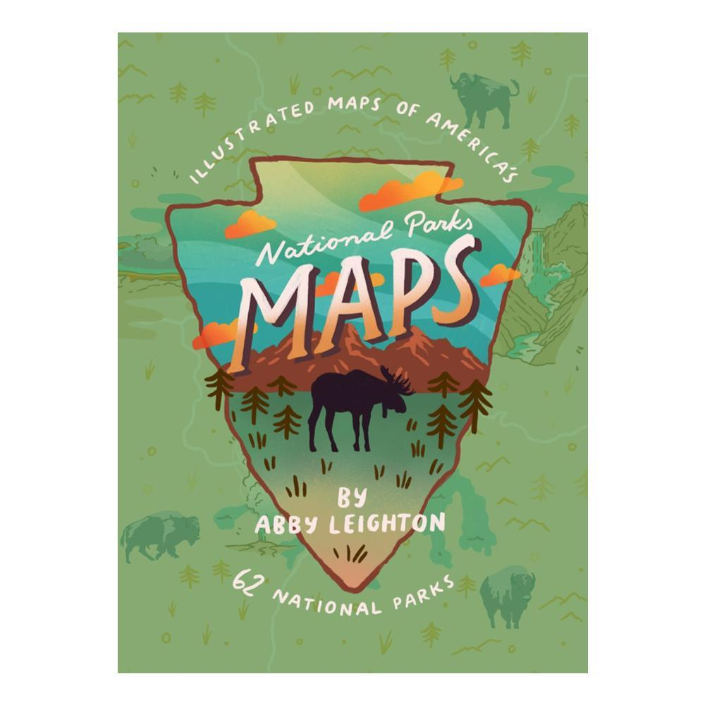 National Parks Maps By Abby Leighton
