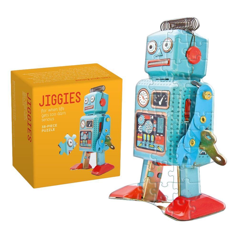 Robot Jiggie 38 Piece Jigsaw Puzzle
