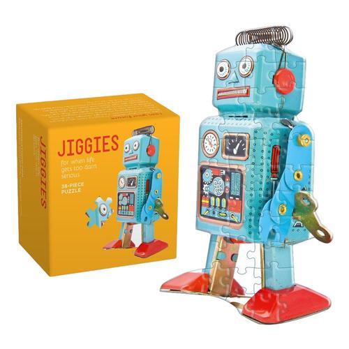 Robot Jiggie (38 Piece Jigsaw) Puzzle