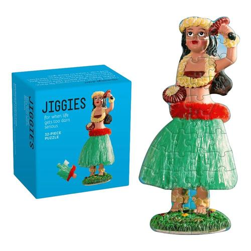 Hula Girl Jiggie (32 Piece Jigsaw) Puzzle