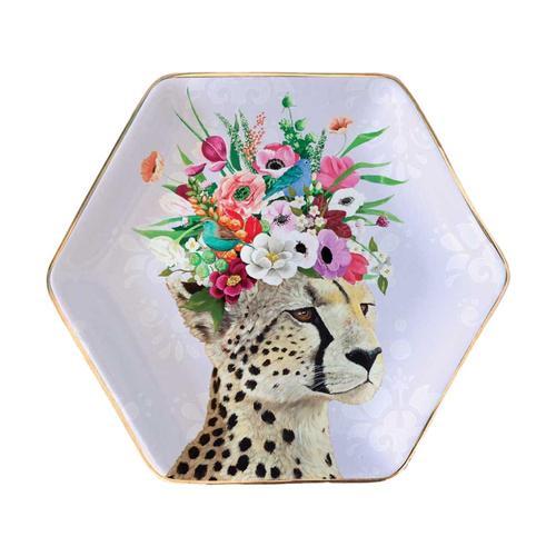 Greenbox Art Haute Cheetah Serveware Decorative Dish