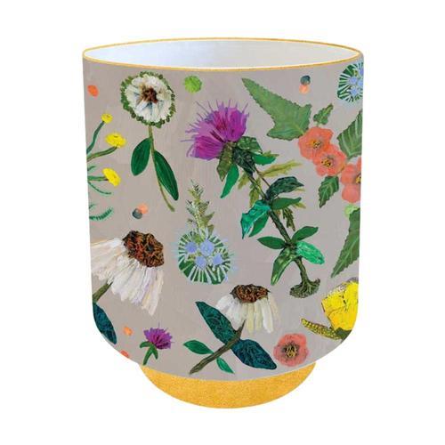 Greenbox Art Wildflowers - Evening Primrose & Coneflowers Vase