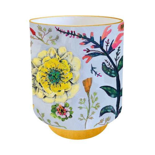 Greenbox Art Wildflowers - Frog Fruit, Coral Sage & Poppies Vase