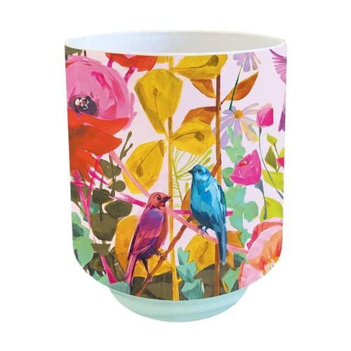 Greenbox Art Love Birds Vase