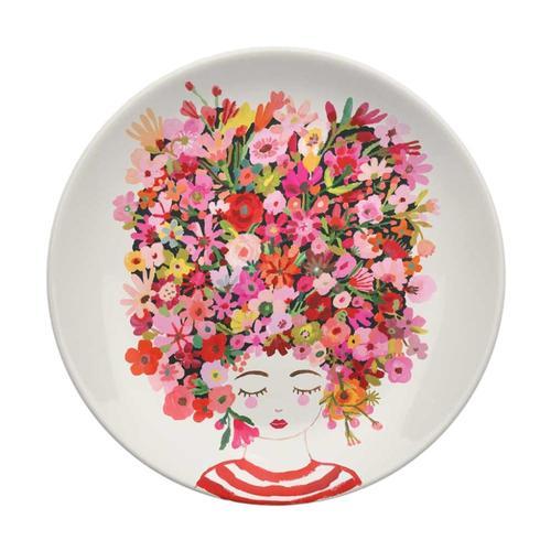 Greenbox Art Country Hair Serveware Decorative Dish