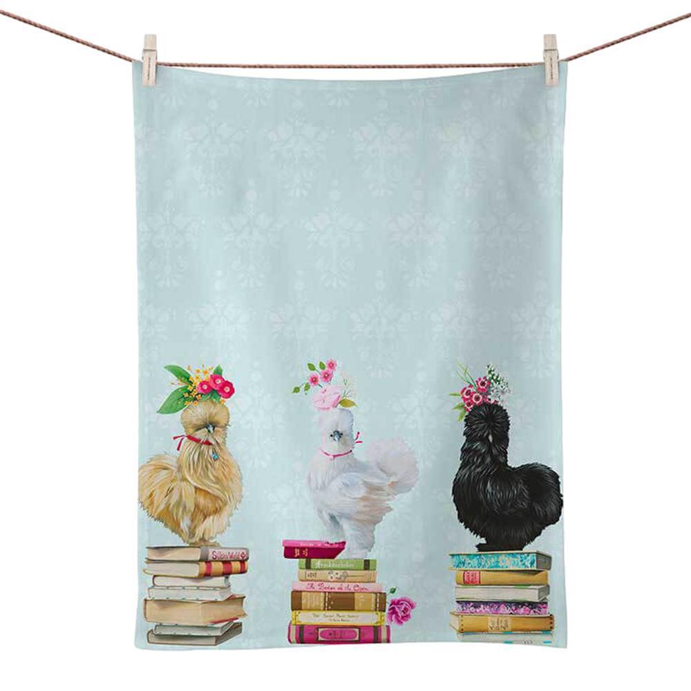 Greenbox Art Queens Of The Book Club Tea Towel