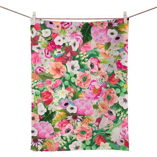 Greenbox Art Haute House Floral Tea Towel