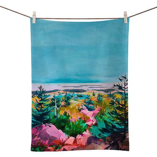 Greenbox Art Press Pause Tea Towel