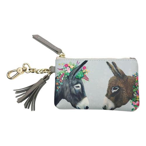 Greenbox Art Lovely Donkeys - Fashion Accessories Key Pouch