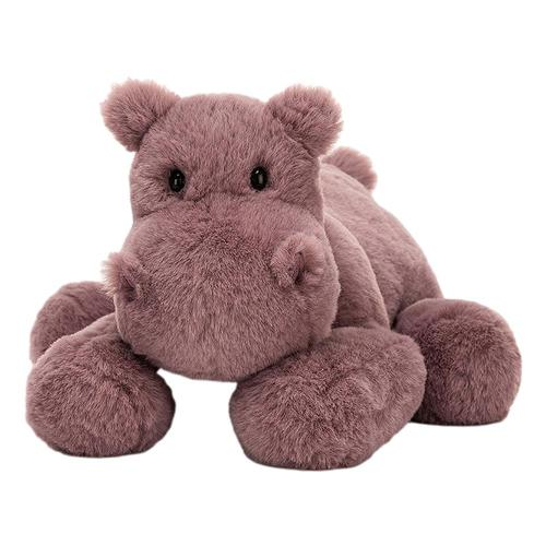 Jellycat Huggady Hippo Stuffed Animal