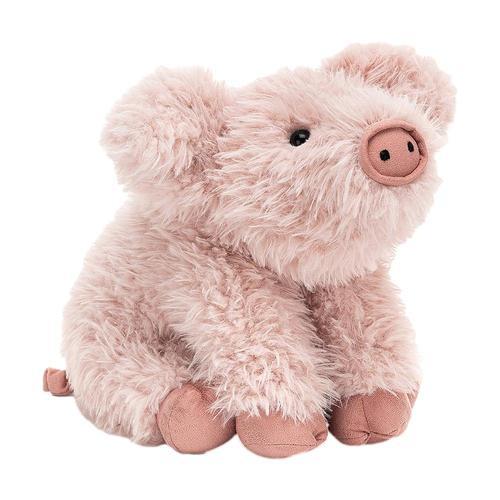 Jellycat Curvie Pig Stuffed Animal