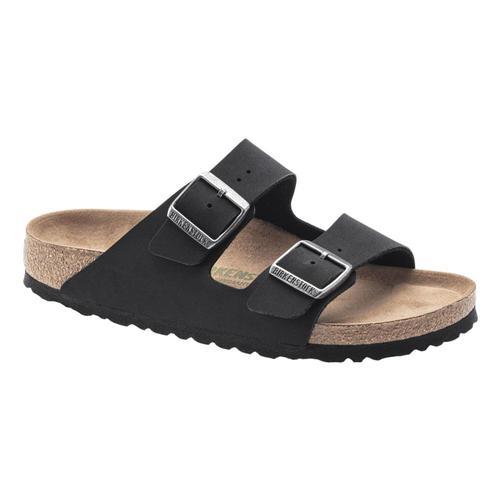 Birkenstock Men's Arizona Vegan Sandals - Regular Black.Bkbc